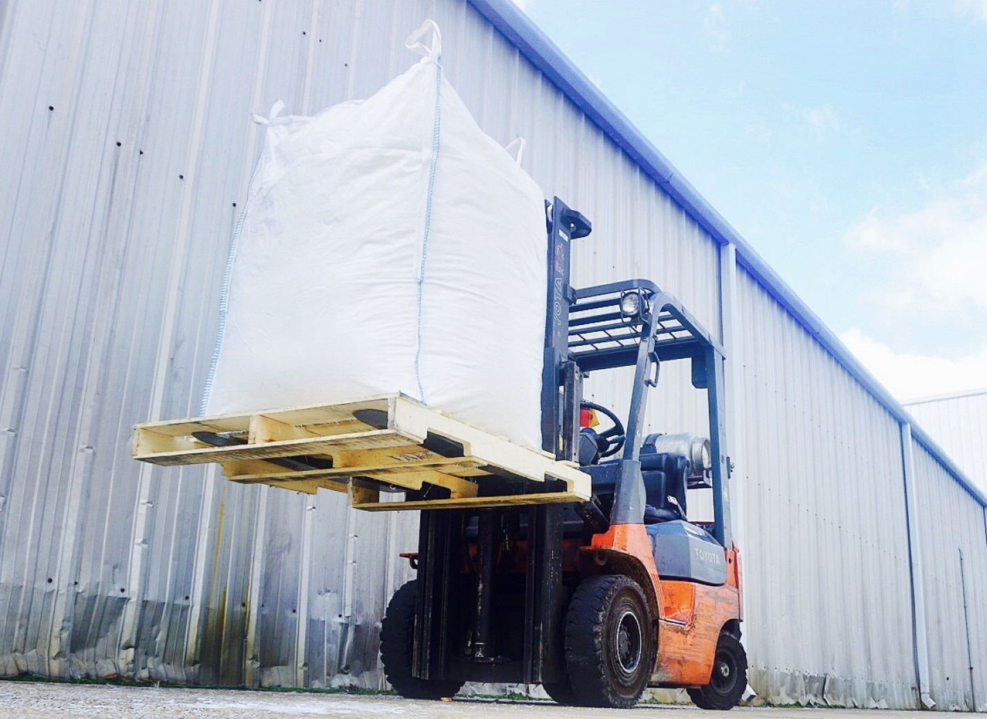 Lifting Bulk Bags by Forklift, Crane or Hoist